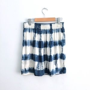 ⚡️SOLD⚡️ Club Monaco silk tie-dye skirt - size 4